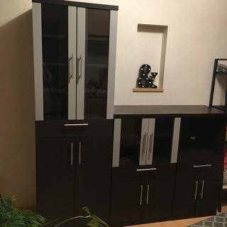 ニトリ食器棚セット