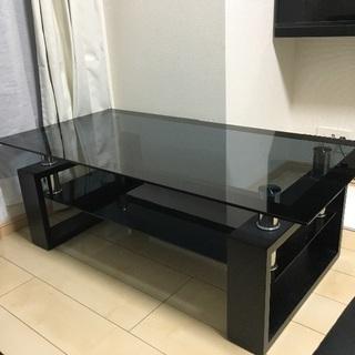 【お洒落】ガラステーブル