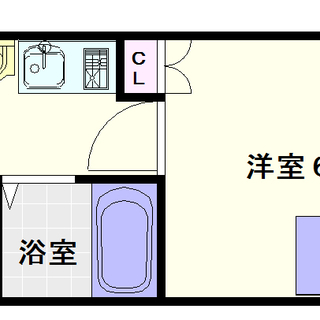 【Villa・Kei】6号タイプ!1Kタイプ!この賃料でこの設備は...