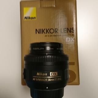 nikon単焦点レンズ【AS-F DX NIKKOR 35mm ...