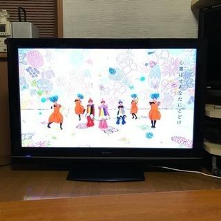 【無料配送】50型プラズマテレビ 250GBHDD内臓 ハイビジ...