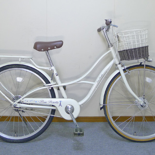 【値引不可】中古24インチ子供用自転車 オートライト