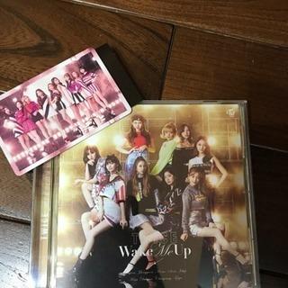TWICE WakeMeUp 通常盤  (ハズレトレカ付き)