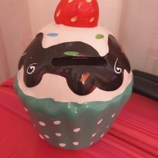 カップケーキ貯金箱※取引相手が決まりました