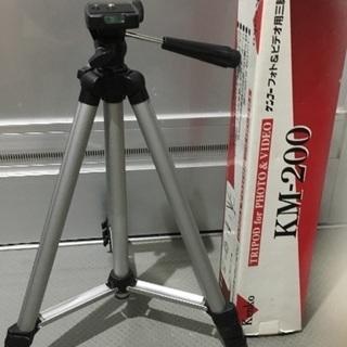 カメラ三脚  Kenko、KM-200ケンコーフォト&ビデオ用三脚