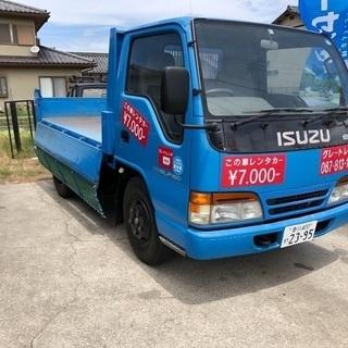 ‼️1日¥7000-‼️エルフ 2トンダンプ 高松