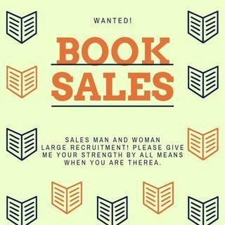 完全歩合制の書籍営業募集させてください!