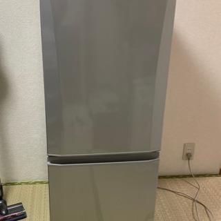 冷蔵庫 中古 146L 2013年製  MR-P15W-S