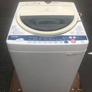 洗濯機 2012年製 Toshiba 大容量6キロ AW-60GK