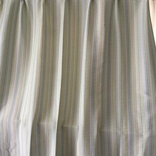 遮光遮熱カーテン 水玉 2枚