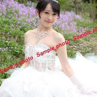 ★ウエディングドレス 大人っぽいホワイトシースルードレス♪♪