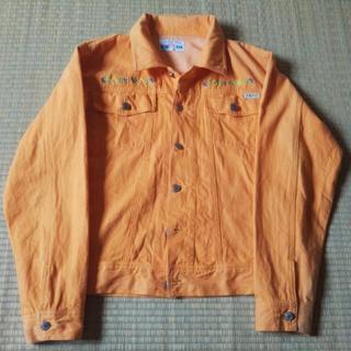 ジャケット(オレンジ色)