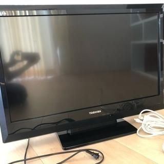 【交渉中】TOSHIBA REGZA 32型 液晶カラーテレビ