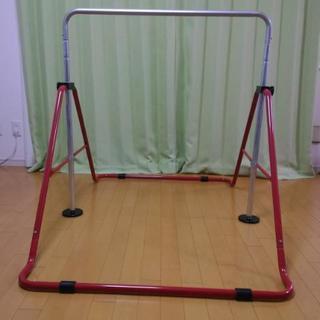 フジモリ プレイングバーDX (室内鉄棒) FP-410 レッド