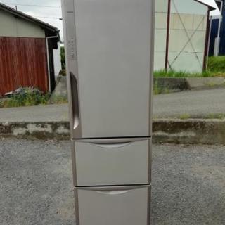 HITACHI 2014年製 365L冷蔵庫 配達可 R-K370EV