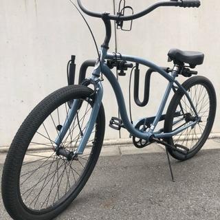キャリア付き自転車