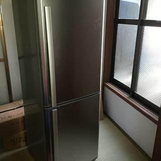 256L 2ドア冷蔵庫