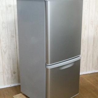 パナソニック 2ドア 冷蔵庫 NR-B145W 138L