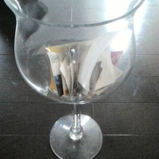デカデカワイングラス