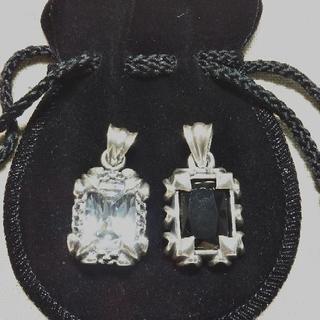 ✨✨【ジルコニア】Silver925 天然石 ネックレストップ ...