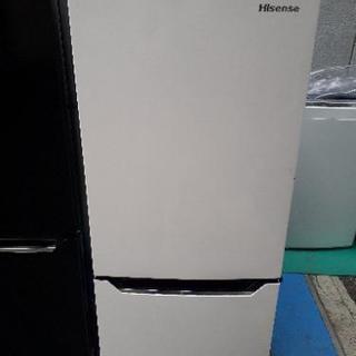 ☆中古 2018年製! 2ドア冷凍冷蔵庫 Hisense 150...
