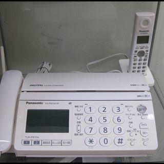 新生活!5400円 FAX電話 パナソニック おたっくす子機付 ...