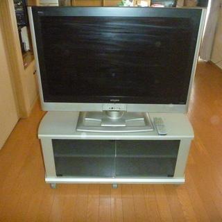 三菱37型テレビ(難あり)+専用台