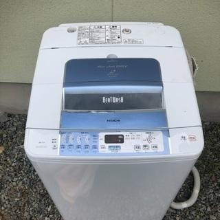 HITACHI 日立 7.0kg 全自動洗濯機 ビートウォッシュ...