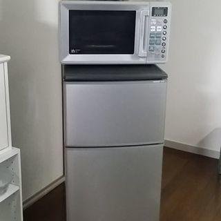 引き取り無料🌟HITACHI冷蔵庫&SANYOオーブンレンジ❗ ...