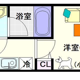 【スプランディッド難波Ⅱ】7号タイプ!1Kタイプ!ペットもOK!...
