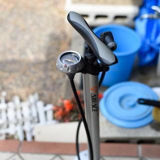 ロードバイク用フロアポンプ(AIRACE INFINITY ター...