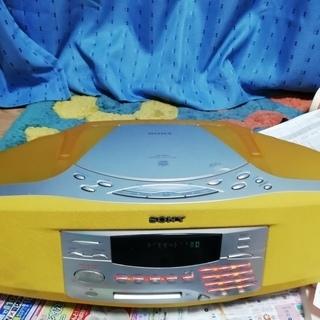 【(値下げ)】SONY製MD/CD/ラジオ
