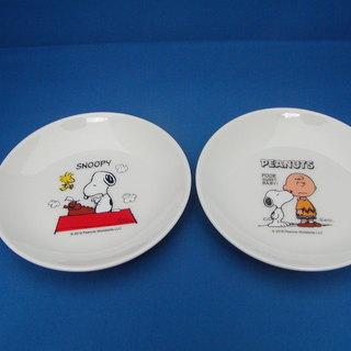snoopy 小皿2枚セットで150円