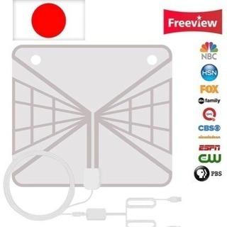 (進化版)室内 HD テレビ 地デジアンテナ 128KM受信