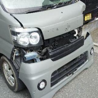アトレーワゴン 33/1 RSターボ 事故車現状