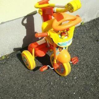 アンパンマン折りたたみ三輪車