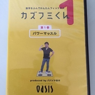 簡単 フィットネス DVD2枚、マット