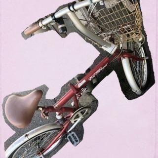 折りたたみ自転車 (ジャンク品)