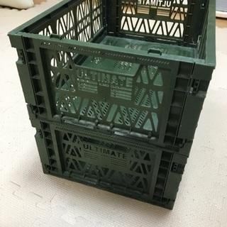 コンテナケース コンテナ プラケース  おもちゃ箱 折りたたみケース