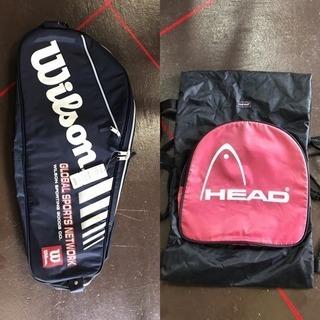 格安未使用品)WILSONテニスバッグ&HEADリックサック