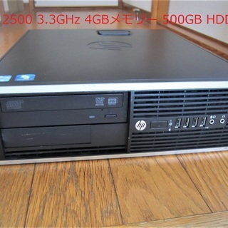 【中古動作品】☆hp-Compaq 6200 Elite SFF...