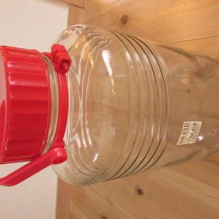 梅酒 果実酒 保存瓶 ガラス 8L