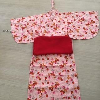 ワンピース浴衣(110)