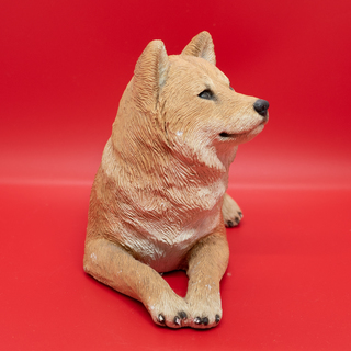 サンディキャスト(SANDICAST)柴犬の置物 - 家具