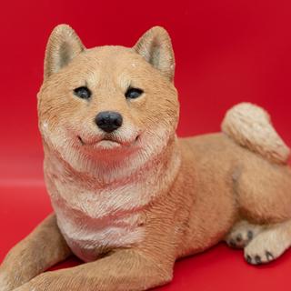 サンディキャスト(SANDICAST)柴犬の置物