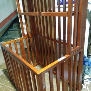 木製折り畳みサークル