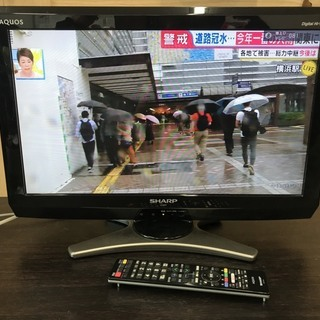 シャープ 20インチテレビ