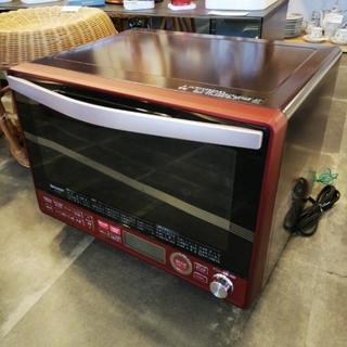 ほぼ未使用!2018年製過熱水蒸気オーブンレンジ、お売りします。