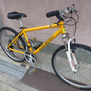 ルイガノ マウンテンバイク 車体かなり古いです(傷、サビあり)