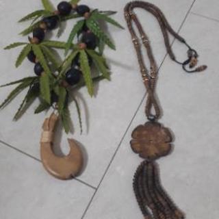 インドネシア バリ島 民芸品2つセット